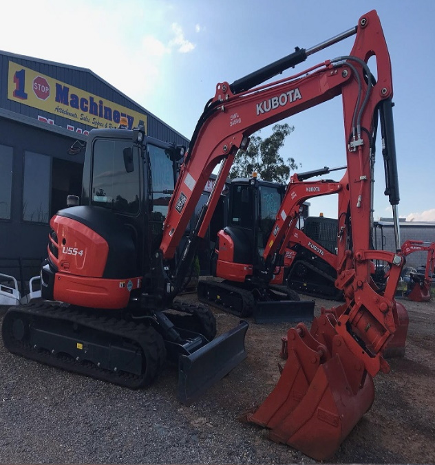 KUBOTA 55 4 for hire