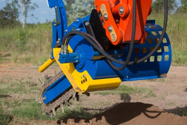 auger torque trenchers